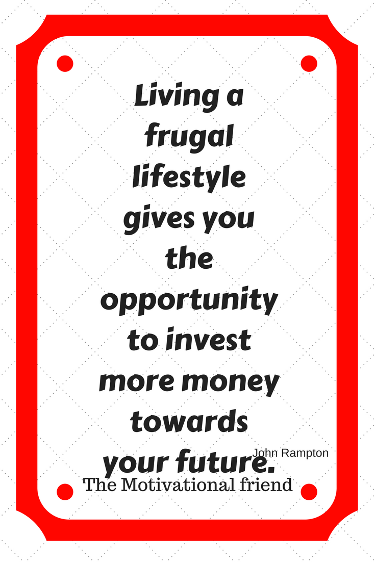 #Frugal living #quotes #saving